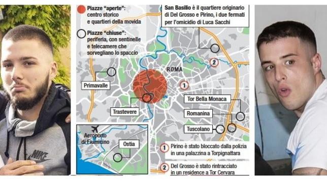 Omicidio Luca Sacchi, nello zaino della ragazza oltre 2mila euro