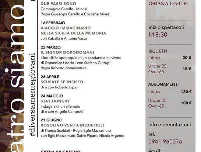 """Cartellone teatrale a Naso, si parte con """"Pinocchio"""" domenica 24"""