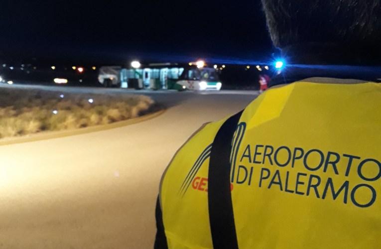Palermo, emergenza aeroportuale, oltre cento i partecipanti