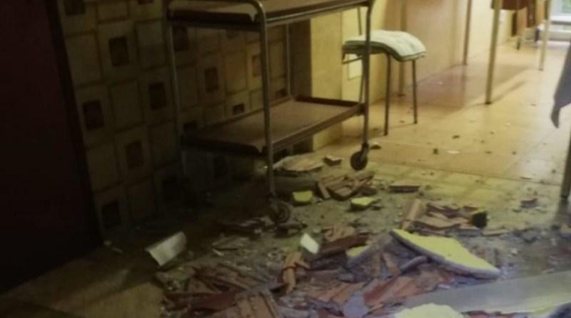 Crolla il controsoffitto all'asilo comunale di Via Lucio Piccolo a Capo d'Orlando |VIDEO