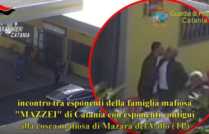 Mafia, asse tra gruppi del clan Mazzei fra Catania e Trapani: ordinanze per 23|VIDEO