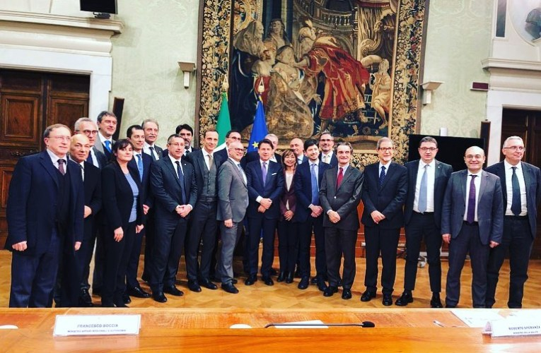 In Sicilia la terza conferenza delle Regioni a Statuto Speciale