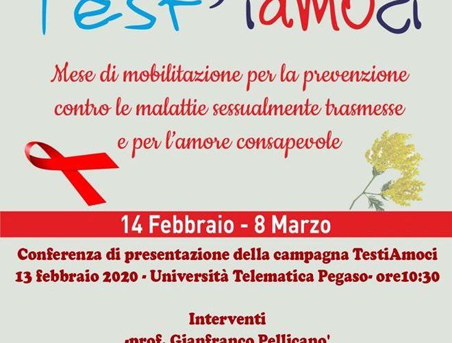 Test'iamoci, campagna di prevenzione