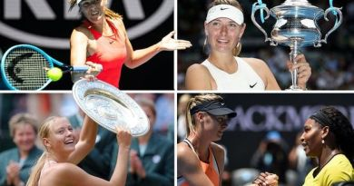 Maria Sharapova! La Dea siberiana dice addio al tennis.