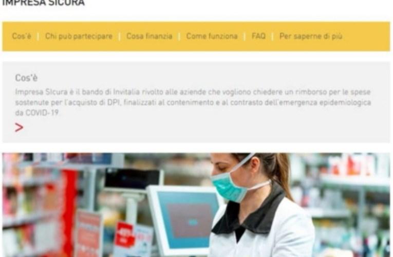 """Coronavirus, Invitalia: """"Boom di domande per gli incentivi Impresa sicura""""   Fondo subito esaurito"""
