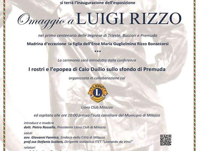 Festa della Marina, cerimonia davanti al monumento di Luigi Rizzo