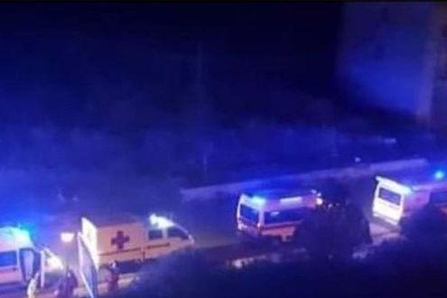 Colonna di ambulanze in zona rossa Sambuca di Sicilia: trasferiti pazienti da Rsa.
