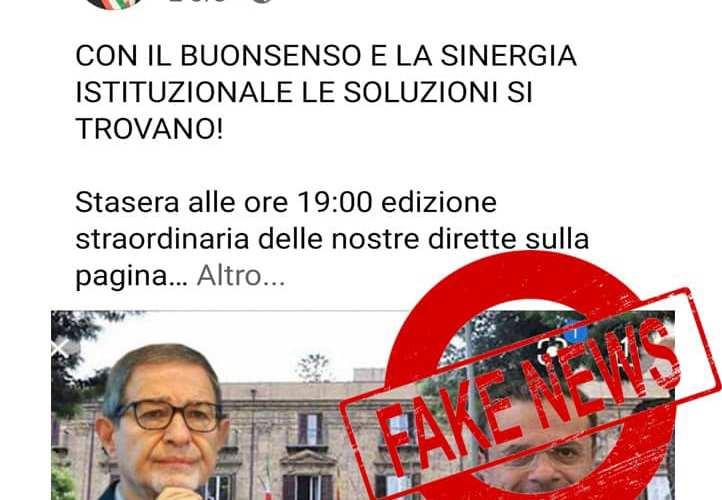 Restrizioni covid: E' una Fake News, Musumeci e De Luca non hanno soluzioni concordate