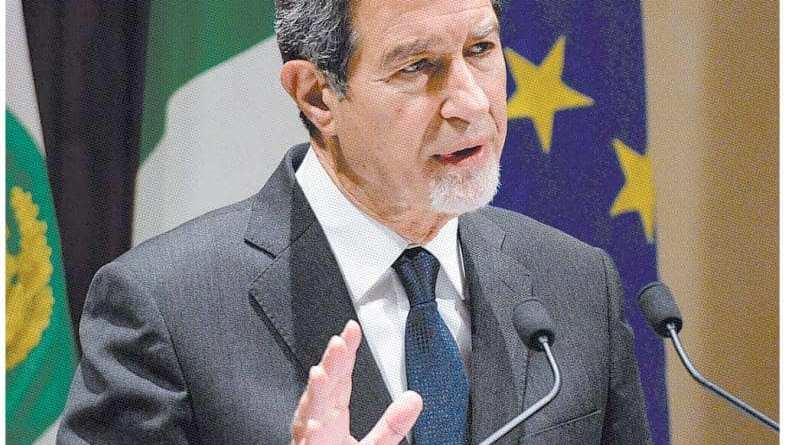 Il governatore della Sicilia, Nello Musumeci eletto presidente della Commissione intermediterranea d'Europa.