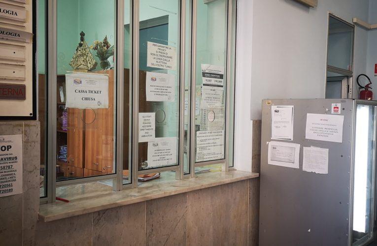 Poliambulatorio Asl di Capo d'Orlando sanificato