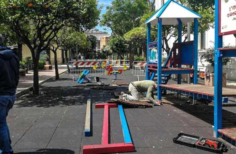 """Capo d'Orlando (Me), Pensiamo, costruiamo…insieme"""" finanziato il parco giochi inclusivo"""