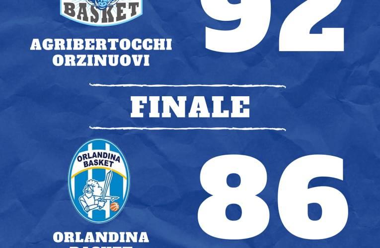 Orzinuovi si issa al secondo posto battendo l'Orlandina 92-86