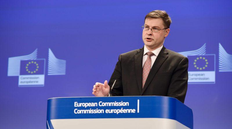 """Ue, Dombrovskis: """"L'instabilità dell'Italia non metta a rischio il Recovery Plan"""""""