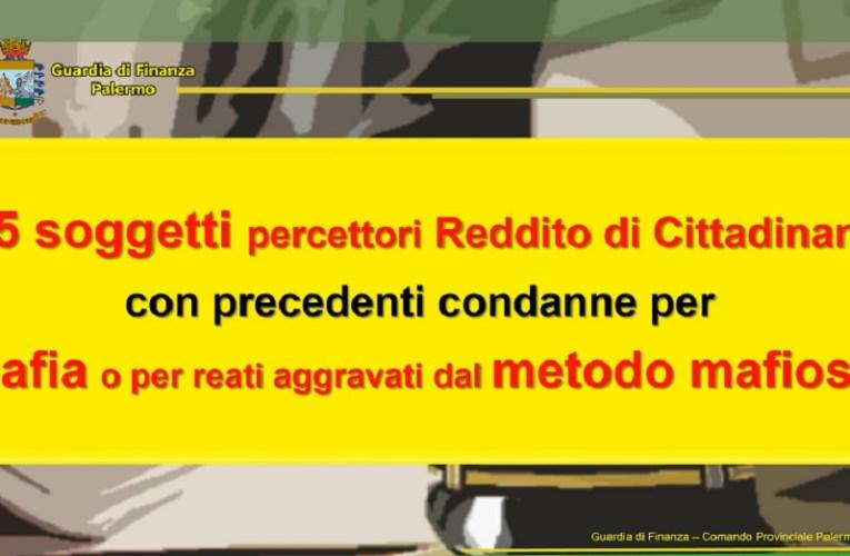 Palermo, reddito di cittadinanza a 145 condannati per mafia