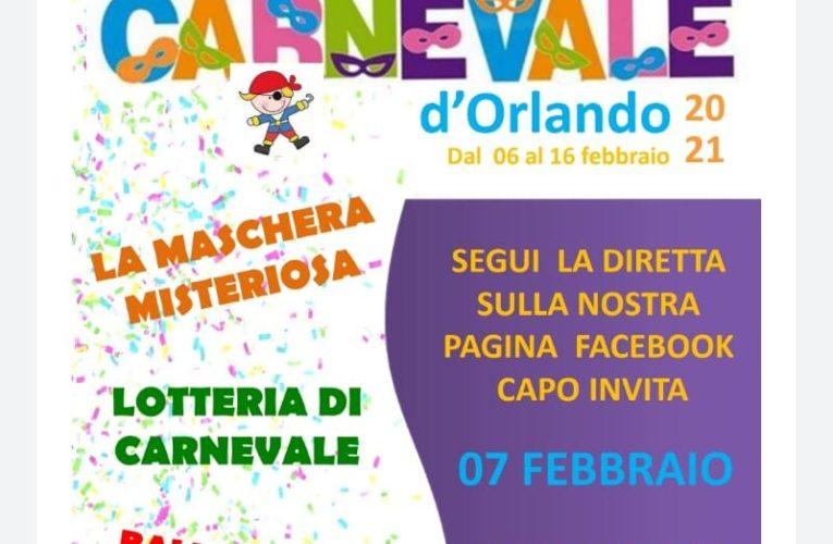 """Capo d'Orlando (Me), CapoInVita organizza il """"Carnevale alternativo"""""""