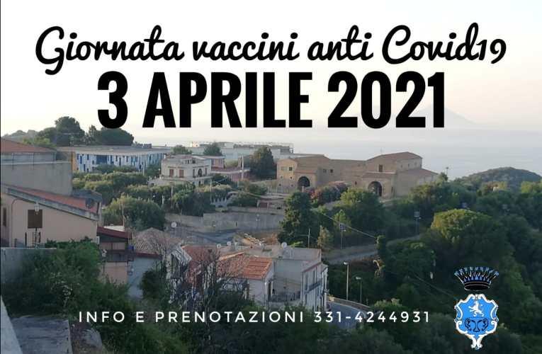 """Comune di Naso (Me) : Sabato3 Aprile """"Giornata vaccini anti covid-19"""