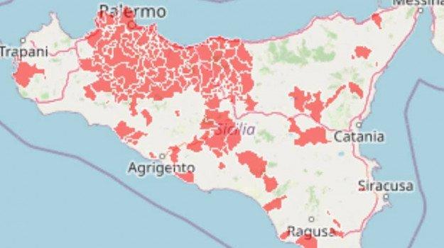 Covid 19,la Sicilia verso la zona rossa!. Sono 110 i Comuni in lockdown.