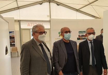 Centro vaccini, il sindaco Ingrillì e l'imprenditore Giuffrè soddisfatti
