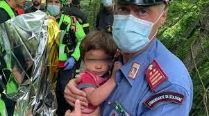 Il bambino scomparso ritrovato vivo a 3 km dall'abitazione