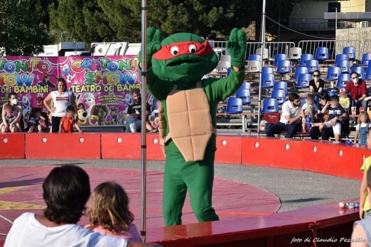"""A Capo D'Orlando lo spettacolo più amato dai bambini, """"Cartonito Show"""""""