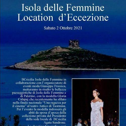 Isola delle Femmine location d'eccezione