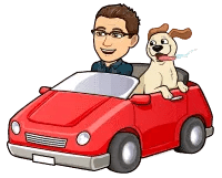 Matt BitEmoji Driving A Car, why blogging is important, business blog, copywriter