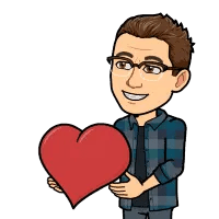 Matt BitEmoji holding a love heart, why blogging is important, business blog, copywriter, freelance copywriter, copywriter in liverpool, improve your website