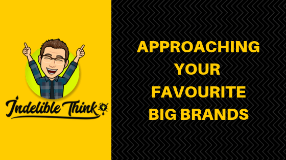 freelance copywriter, write around your full-time job, copywriter uk, appraching your favourite big brands