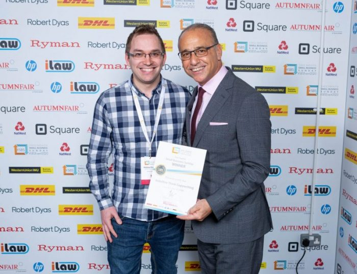 #sbsevent2020, #sbswinner, #sbswinndershour, Indelible Think copywriting, copywriter, theo paphitis