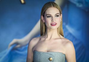 Lily James. Photo: JACK TAYLOR/AFP/Getty Images