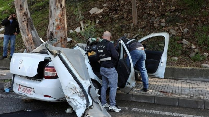 Lebanon inmates break doors and die in car crash after jail-break