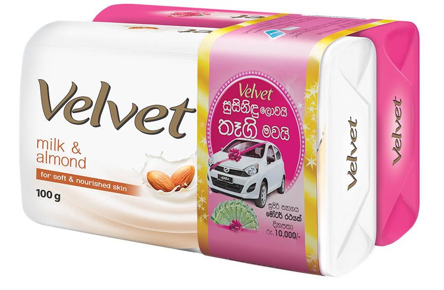 Win with Velvet: Sri Lanka's No. 1 beauty soap brand