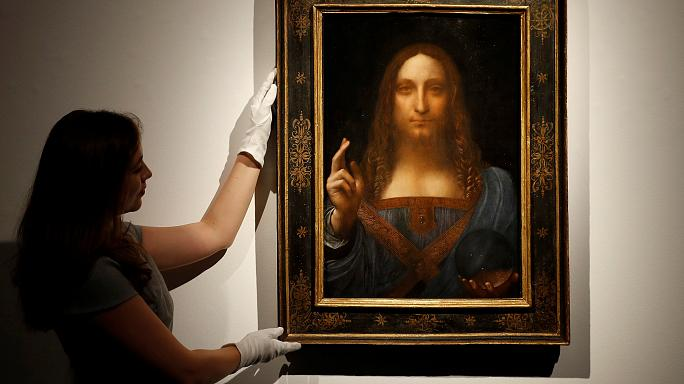 Leonardo da Vinci painting sells for record $450m