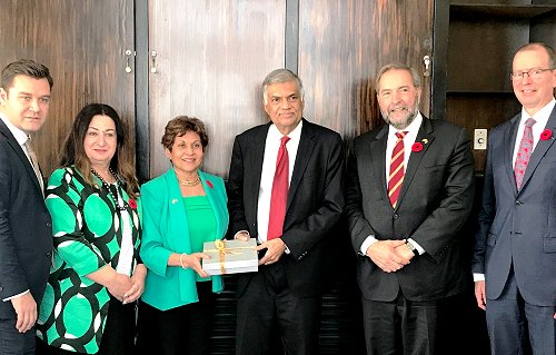 Canadian Branch of the Commonwealth Parliamentary Association visits Sri Lanka