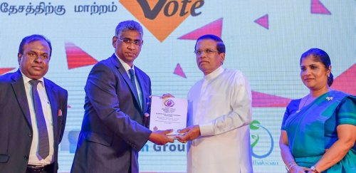 Sri Lankan President raises awareness in lack of women representation in politics