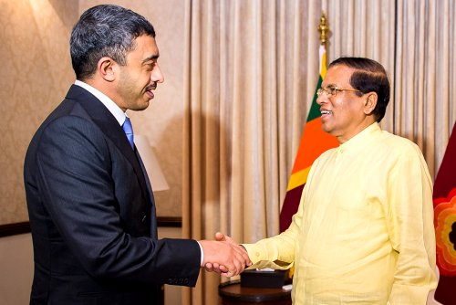 UAE keen to support joint development projects with Sri Lanka