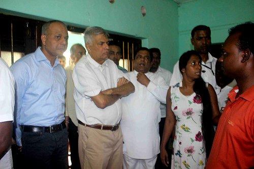 Sri Lankan Prime Minister visits restive southern coastal town hit by Buddhist-Muslim communal violence