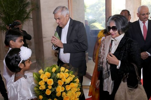 Sri Lankan Prime Minister to hold discussions with Indian Premier today