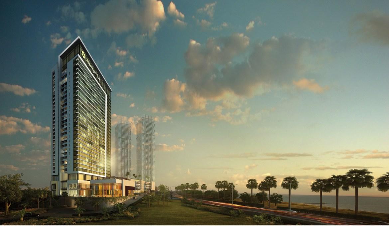 President opens Shangri-La Hotel in Colombo