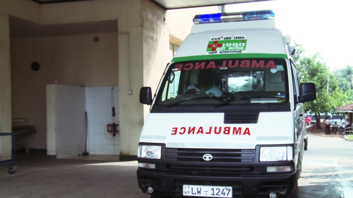 Support to the Suwaseriya Ambulance service