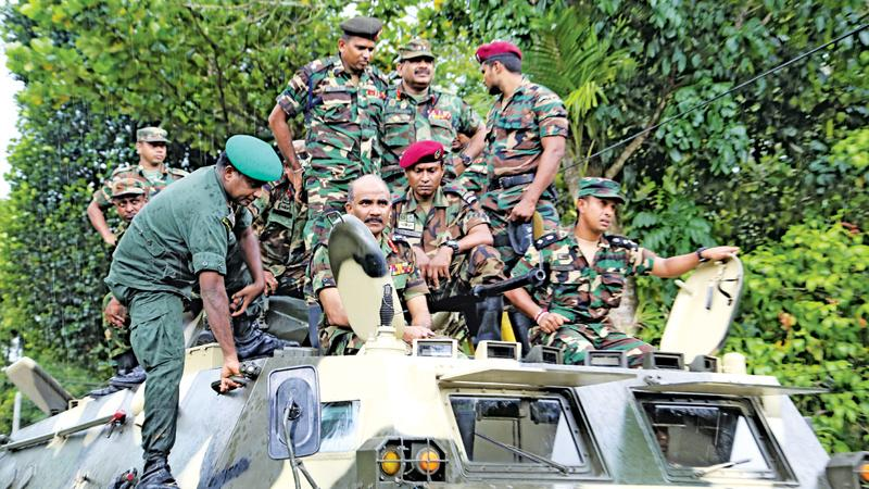 Sri Lanka military deploys over 2000 troops to provide relief, police cancel leave for officers
