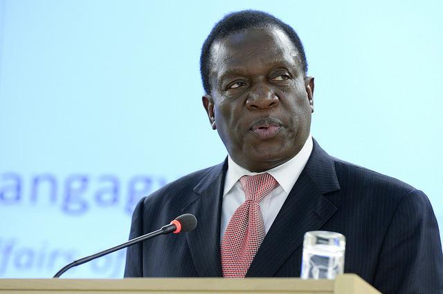 Zimbabwe's incoming leader promises jobs in 'new democracy'