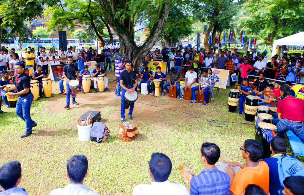 Tiara Rollo sponsors 'Bera Fest 2017' to inspire the next generation of percussion musicians