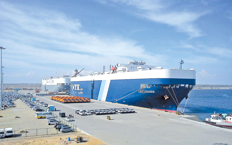 Last year 183 ships arrive at Sri Lanka's Hambantota port