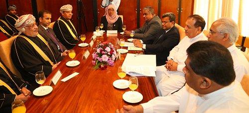 Oman, Sri Lanka discuss strengthening inter-parliamentary diplomatic ties