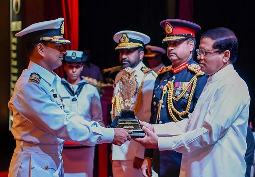 Sri Lankan President promises to provide all facilities for security forces members to equip them with knowledge