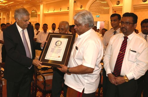 Sri Lanka setting Guinness record for World's tallest Christmas tree shows national coexistence – PM