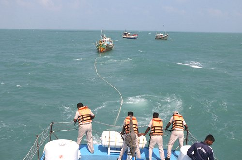 India releases another three Sri Lankan fishing trawlers from custody