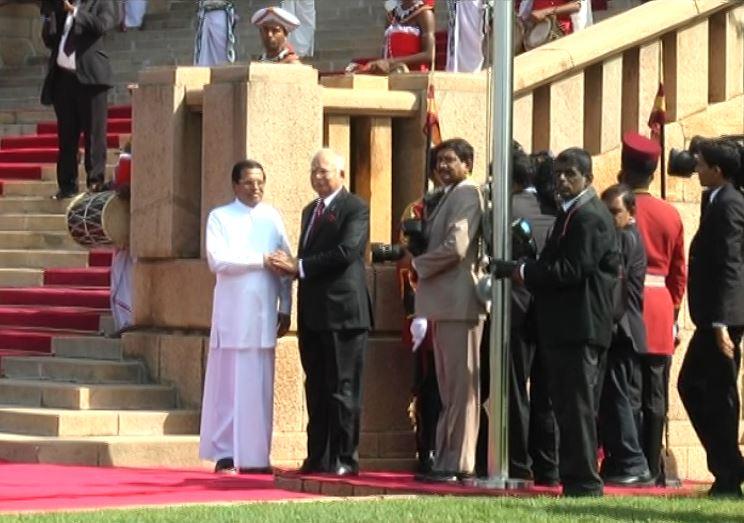 Malaysian PM meets President Sirisena