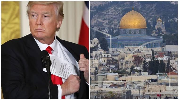 Donald Trump: 'Jerusalem is Israel's capital'
